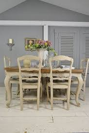letstrove this stunning provencal style vine french oak dining set will be the centrepiece of any dining room we ve painted in farrow ball purbeck