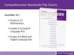 Common Core Standards And Strategies Flip Chart Ppt Video