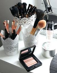 makeup holder ideas gorgeous makeup storage ideas beauty vanity organization ideas lace del cups as makeup makeup holder ideas