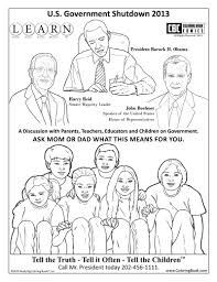 Small Picture Government Shutdown Coloring Book Page Free Online Coloring Page