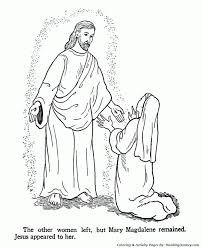 Small Picture Bible Coloring Pages Jesus Resurrection Printable Coloring Sheets