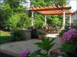 backyard patio landscaping ideas innovative with picture of backyard patio style new at gallery