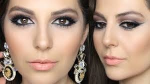 arabic inspired smokey eye makeup tut