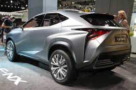 2018 lexus fc. wonderful lexus 2018 lexus nx lf concept rear three quarters cars2017 intended fc