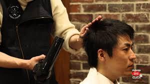 髪型メンズ床屋が教えるヘアセット方法ビジネスショートスタイル 9