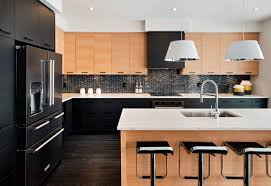 Pull Down Lights Kitchen Kitchen Narrow Kitchen With White Backsplash Also Countertops