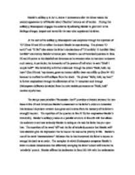 hamlets soliloquy in act scene commences after the ghost  page 1 zoom in