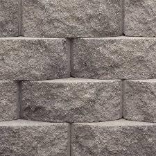 gray brick retaining wall novocom top