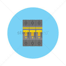 circuit breaker and fuse box vector image 1247494 stockunlimited breaker fuse box price circuit breaker and fuse box vector graphic