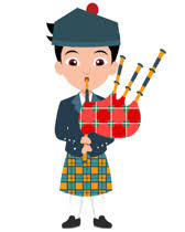 Scotland is internationally known for its traditional music. Search Results For Bagpipe Clip Art Pictures Graphics Illustrations