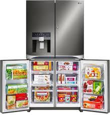 Lime Green Kitchen Appliances Lg Lpxs30866d 36 Inch French Door Refrigerator With Door In Door