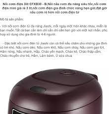 Nồi cơm điện 3lit CFXB30 - BNồi nấu cơm đa năng siêu tốcnồi cơm điện mini  giá rẻ 3 lítnồi cơm điện gia đình chức năng hẹn giờđặt giờ nấu cơm rẻ