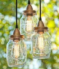 outdoor pendant lamp mason or glass jar