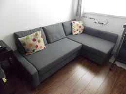 ikea friheten corner sofa bed with storage dark grey