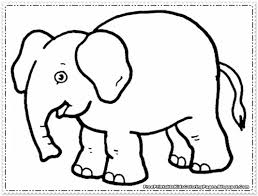Elephant Coloring Pages Printable - Free Printable Kids Coloring Pages