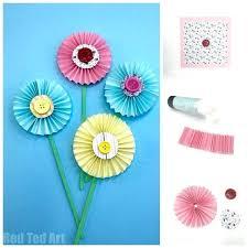 Paper Flower Craft Ideas Crafts Step By Step Talegadayspa Com