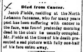 Death: Jacob Fields - Newspapers.com