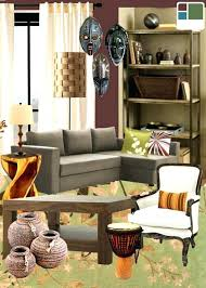 african furniture and decor. African Inspired Furniture Decorations Decor Living Room Themed Dining And