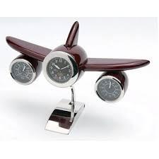 airplane clocks
