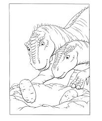 Dinosaurus Kleurplaat Jouwkleurplaten