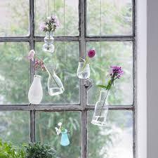 Kreative Fensterdeko Hängende Vasen Bild 9 Living At Home