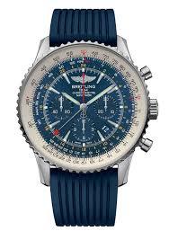 Watchtime No Usa's Breitling Limited Watch 1 - Edition Blue Navitimer Gmt Aurora Magazine