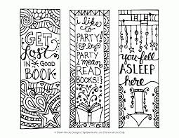 Free Printable Coloring Page Bookmarks Dawn