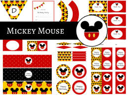 Mickey Mouse Party Printables Free Mickey Mouse Friends Birthday Magical Printable