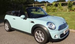 2013 mini cooper convertible. sarah has wanted an ice blue mini for ages so this is going to be hers 2013 mini cooper convertible