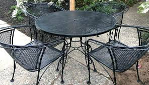 elegant patio furniture. Rod Iron Table And Chairs Furniture Elegant Patio As Wrought Attractive Dining Set Pertaining G