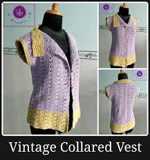 Free Crochet Vest Patterns Adorable 48 Crochet Vest Patterns AllFreeCrochet
