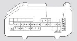 honda accord 2008 2009 fuse box diagram auto genius honda accord 2008 2009 fuse box diagram