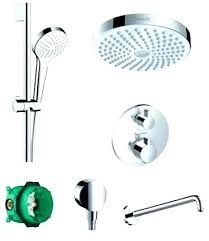 shower system view the shower system with rain shower head hansgrohe shower systems hansgrohe shower systems