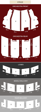 Akron Civic Theatre Akron Oh Seating Chart Stage