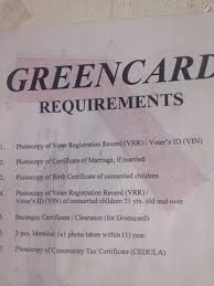 There are numerous requirements to make sure that the photograph is correct. Ako Si Ickong How To Get Green Card In Las Pinas City Requirements