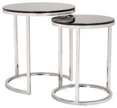 modern contemporary urban living lounge room coffee side table black glass contemporary side tables and end tables by house bound