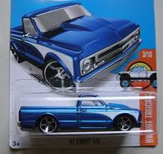 Hot Wheels 1:64 Scale Diecast 1967 C10 Chevy Chevrolet Pickup ...