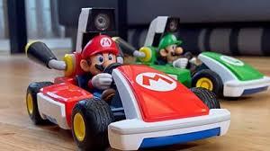 <b>Mario</b> Kart Live: Mixed-reality karts race around the home - BBC News