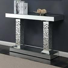 contemporary sofa table ii glass silver console furniture tables design designs contemporary sofa table