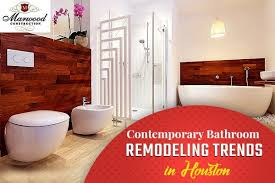Contemporary Top Bathroom Remodeling Trends In Houston Contemporary Cool Bathroom Remodel Houston Remodelling