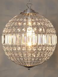 stylish crystal ball chandelier glass ball chandelier modern interior design ideas