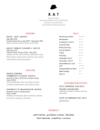 Example Resume Strengths And Weaknesses Awesome Examples For Resumes
