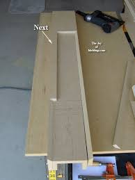 how to install mdf moldings how to make a fireplace surround