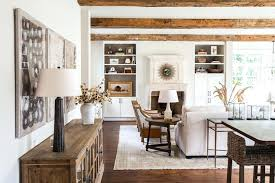 living room built ins stone fireplace with stacked