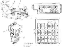 toyota pickup fuse box diagram image 1999 ford escort 2 0l fi sohc 4cyl repair guides circuit on 1989 toyota pickup fuse