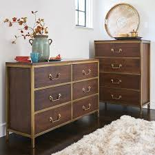 Black Dresser And Chest Of Drawers,low Wide Chest Of Drawers Tall Bedroom  Dresser Furniture