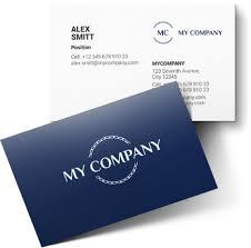 Online Busines Card Logaster Online Brand Identity Builder