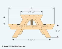 Best 25 Picnic Table Plans Ideas On Pinterest  Diy Picnic Table How To Make Picnic Bench