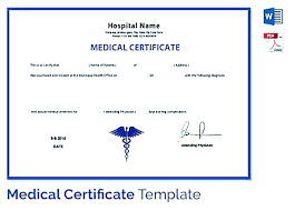 Medical Certificate Template Gorgeous Sick Leave Certificate Sample Juanmarinco