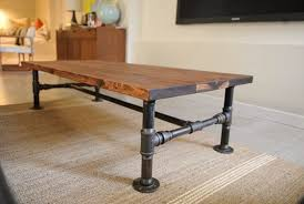 industrial furniture ideas. Image Of: Rustic Industrial Coffee Table Ottoman Furniture Ideas